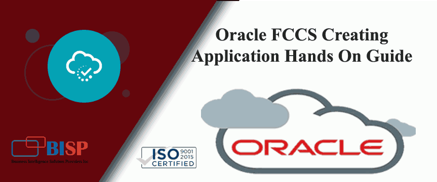 Oracle FCCS Creating Application Hands On Guide